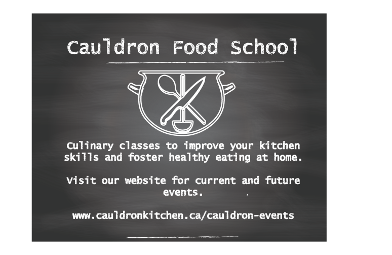 Cauldron Food School Poster