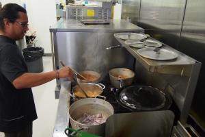 Stirring at the Cauldron