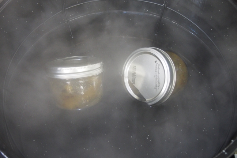 Jars boiling in the Cauldron