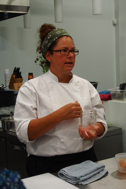 Jo-Ann Laverty, a Cauldron Food School instructor extrodinaire.