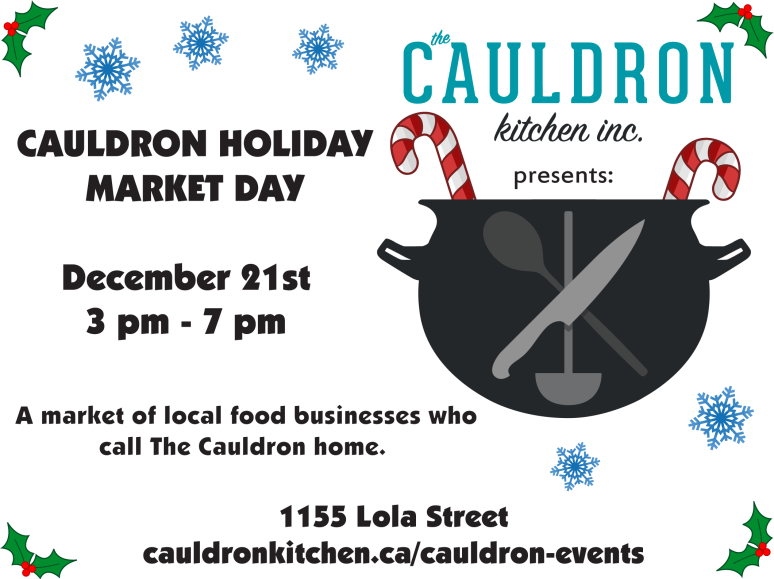 Cauldron Holiday Market Day
