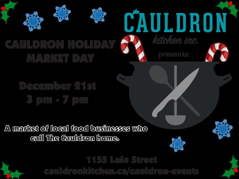 Cauldron Holiday Market Day