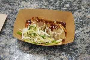 Gongfu Bao Street Food presented... pho siu mai dumplings.