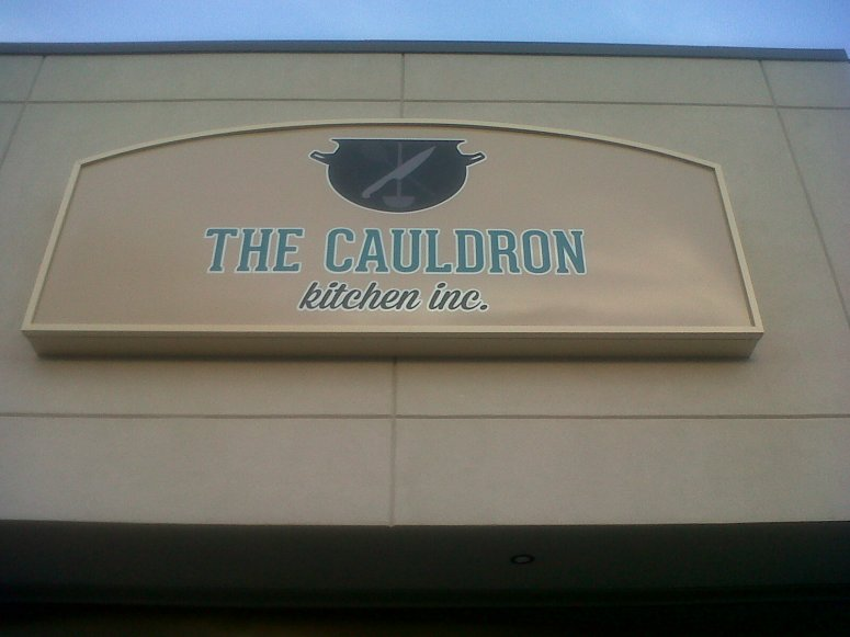 Cauldron Photo - New Sign